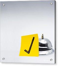 Good Customer Service Concept Acrylic Print by Jorgo Photography - Wall Art Gallery