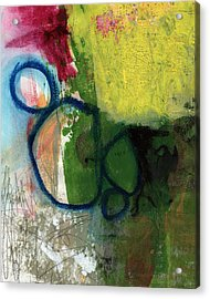 Good Day-abstract Painting By Linda Woods Acrylic Print
