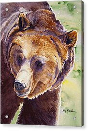 Good Day Sunshine - Grizzly Bear Acrylic Print