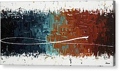 Acrylic Print featuring the painting Good Feeling - Abstract Art by Carmen Guedez