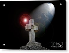 Good Friday Acrylic Print by Bonnie Barry