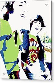 Good Friends Acrylic Print by Ed Smith