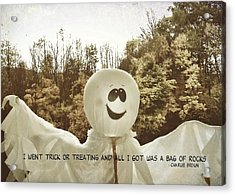 Good Grief Quote Acrylic Print by JAMART Photography