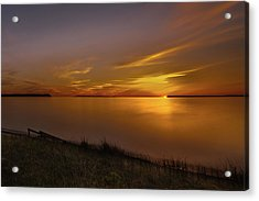 Good Harbor Bay Sunset Acrylic Print