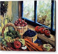 Good Harvest Acrylic Print by Richard T Pranke