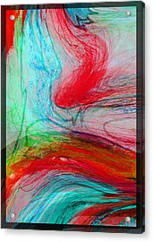 Acrylic Print featuring the digital art Good Is Coming 3 by Kate Word