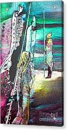 Good Lord Show Me The Way Acrylic Print by Miki De Goodaboom