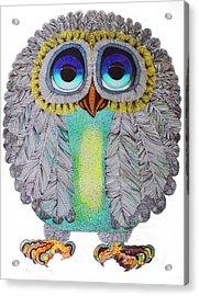 Good Luck Owl Acrylic Print