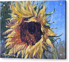 Good Mornin Acrylic Print by L Diane Johnson