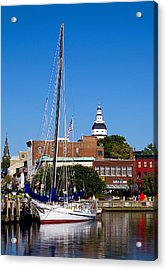 Good Morning Annapolis Acrylic Print by Edward Kreis