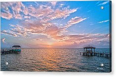 Good Morning Aransas Bay Acrylic Print