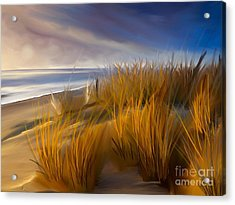 Good Morning Beach Day Acrylic Print