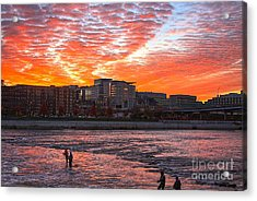 Good Morning Grand Rapids Acrylic Print by Robert Pearson
