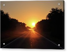 Acrylic Print featuring the photograph Good Morning by John Knapko