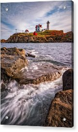 Good Morning Nubble Acrylic Print by Darren White