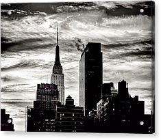 Good Morning Nyc Acrylic Print