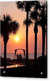 Good Morning Acrylic Print by Steven Sparks