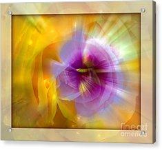 Good Morning Sunshine Acrylic Print by Chuck Brittenham
