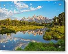 Good Morning Tetons Acrylic Print