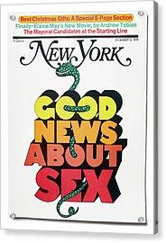 Good News About Sex Acrylic Print