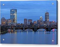 Good Night Boston Acrylic Print by Juergen Roth