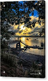 Good Night Madeleine Point Acrylic Print