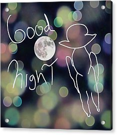 Good Night Acrylic Print
