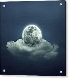 Good Night Acrylic Print by Zoltan Toth