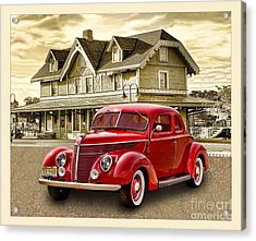 Good Old Days Acrylic Print by Arnie Goldstein