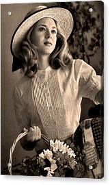 Good Old Fashion Girl Acrylic Print