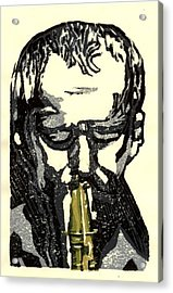 Good Sax Acrylic Print by John Brisson