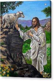 Good Shepherd Acrylic Print by Yulia Litvinova