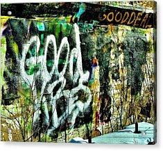 Good Vibes Acrylic Print