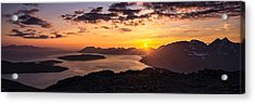 Goodbye And Goodnight Acrylic Print by Tor-Ivar Naess