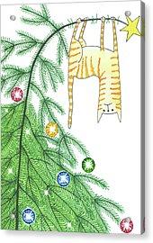 Goodbye, Christmas Tree  Acrylic Print