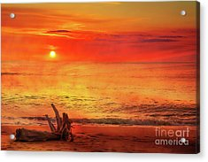 Acrylic Print featuring the digital art Goodbye Day by Randy Steele