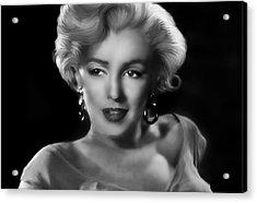 Goodbye Norma Jean Acrylic Print by Julie L Hoddinott
