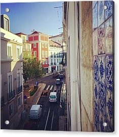 #goodmorning #morning #lisbon #portugal Acrylic Print