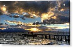 Goodnight Lake Tahoe Acrylic Print