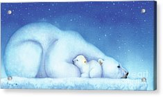 Arctic Bears, Goodnight Nanook Acrylic Print