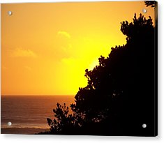 Goodnight Sun Acrylic Print