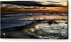 Goodnight Sun Isle Of Palms Acrylic Print