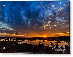 Goodnight Topsail Acrylic Print