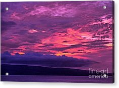 Goodnight World Acrylic Print by Krissy Katsimbras