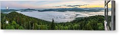 Goodnow Mountain Panorama Acrylic Print