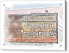 Goodrich Tires Acrylic Print