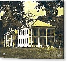 Goodwood Plantation Baton Rouge Circa 1852 Acrylic Print
