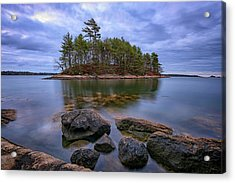 Acrylic Print featuring the photograph Googins Island by Rick Berk