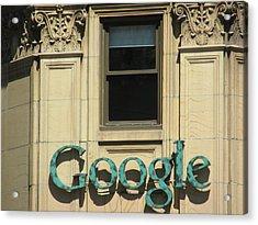 Google Acrylic Print by Alfred Ng