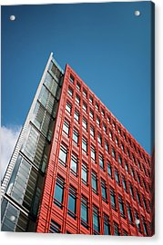 Acrylic Print featuring the photograph Google by Stewart Marsden